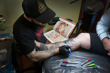 From Markers To Tattoo Bearcat Tattoo