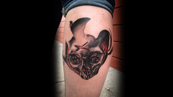 Tyler Bearcat Tattoo Gallery