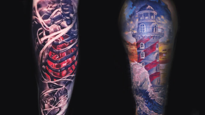 Isaac Bearcat Tattoo Gallery