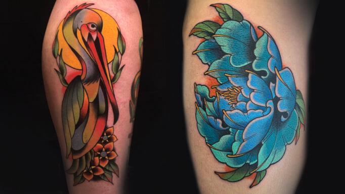 Marty Bearcat Tattoo Gallery