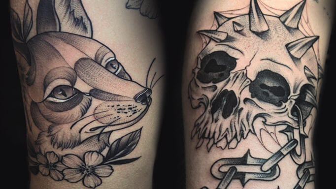 Bruce Bearcat Tattoo Gallery